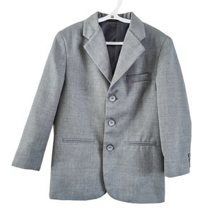 George Formal Suit Jacket Blazer Grey 8
